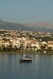 Rethymno in the morning Stock Photography