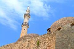Rethymno Mosque Neratzes Royalty Free Stock Photography