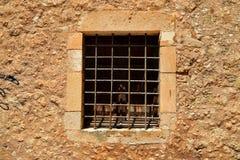 Rethymno Mosque Neratzes window Royalty Free Stock Photo
