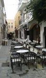 Rethymno. Old Town. Crete. Greece Stock Image