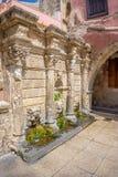 Rethymno old town Rimondi Fountain Stock Photography