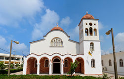 Rethymno Orthodox church Stock Photography