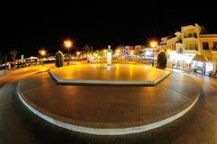Rethymno przy nocą Grecja Crete Obraz Royalty Free
