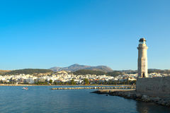 Rethymno Schacht. Kreta. lizenzfreies stockbild
