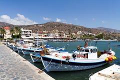 Rethymno stad i Kreta Royaltyfria Foton
