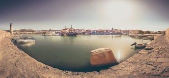 Rethymno Stadt in Kreta-Insel in Griechenland Lizenzfreies Stockfoto