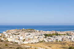 Rethymno sur Crète Photo stock
