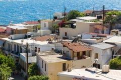 Rethymnon под ярким солнцем Стоковое Фото