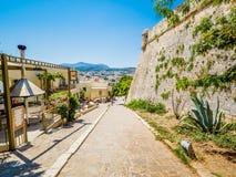 Rethymnon, Crète, Grèce : La forteresse vénitienne Fortezza photographie stock