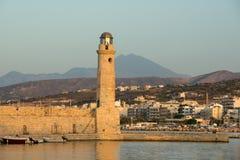 Rethymnon crete Obrazy Royalty Free
