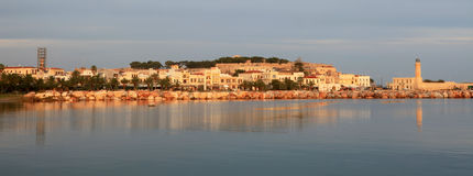 Rethymnon  at dawn Royalty Free Stock Image