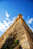 Rethymnon fort 01. An image of the Palaiokastro venetian fort that's also known as the fortezza castle in the Greek town of Rethymnon on the island of crete Royalty Free Stock Photo