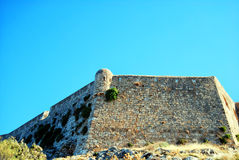 Rethymnon fort 02. An image of the Palaiokastro venetian fort that's also known as the fortezza castle in the Greek town of Rethymnon on the island of crete Stock Image