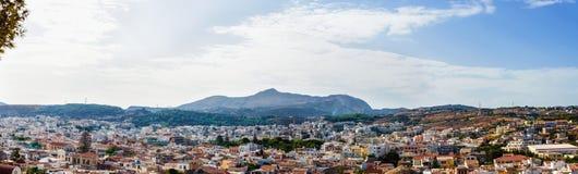 Rethymnon kreta Griekenland Stock Afbeelding