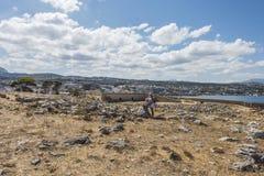 Rethymnovesting, Kreta Royalty-vrije Stock Foto's