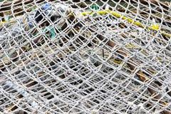 Reti da pesca Immagini Stock