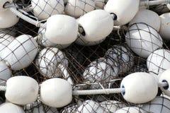 Reti da pesca bianche nere Alaska Fotografie Stock Libere da Diritti