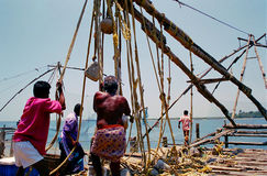 Reti da pesca cinesi, #1 Immagini Stock Libere da Diritti