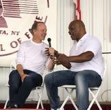 Reti Jim Gray del ferro Mike Tyson e di Showtime Immagine Stock Libera da Diritti
