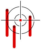 Reticle, target Royalty Free Stock Photography