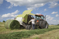 Reticolato cambiante dell'agricoltore Fotografia Stock