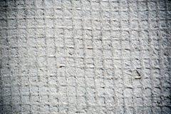 Reticolato grigio dell'isolamento di un edificio Fotografia Stock