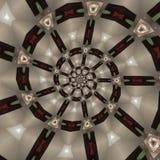 Reticoli circolari astratti Fotografie Stock