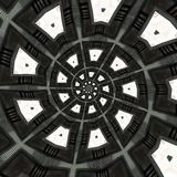 Reticoli circolari astratti Fotografia Stock Libera da Diritti