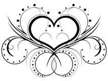 Reticoli del cuore Fotografia Stock