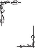 Reticoli dell'annata per il disegno Fotografie Stock