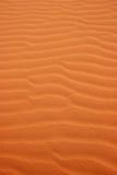 Reticoli della sabbia nel deserto immagine stock