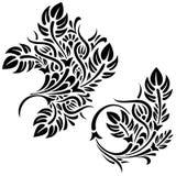 Reticoli floreali illustrazione di stock