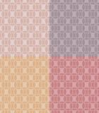 Reticoli geometrici determinati Fotografia Stock Libera da Diritti