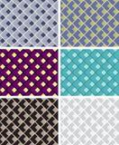 Reticoli geometrici senza giunte Fotografia Stock
