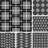 Reticoli geometrici senza giunte determinati. Fotografia Stock
