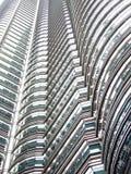 Reticoli ripetuti del grattacielo Fotografia Stock Libera da Diritti