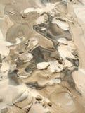 Reticoli in sabbia Immagine Stock