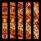 Reticolo africano illustrazione di stock