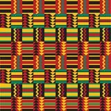 Reticolo africano senza giunte Fotografia Stock