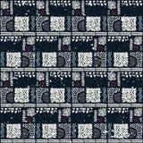 Reticolo africano senza giunte Modello etnico sul tappeto Fotografia Stock Libera da Diritti