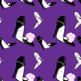 Reticolo alla moda dello shose Immagine Stock