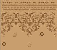 Reticolo antico del bordo illustrazione vettoriale