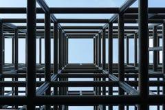 reticolo architettonico di una costruzione Fotografia Stock Libera da Diritti