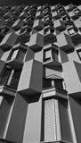 Reticolo architettonico in una casa residenziale Immagine Stock