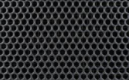 Reticolo astratto del metallo o dell'acciaio con le celle Immagine Stock Libera da Diritti