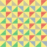 Reticolo astratto del triangolo Fotografia Stock