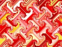 Reticolo astratto rosso Fotografia Stock