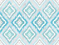 Reticolo azteco senza giunte geometrico astratto Fotografia Stock Libera da Diritti