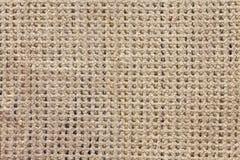 Reticolo beige del tessuto del tweed Fotografia Stock