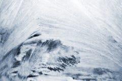 Modello bianco del ghiaccio fotografia stock